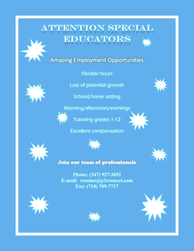 Amazing Employment Opportunities!
