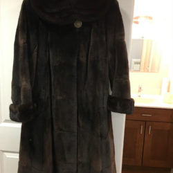 shearmink coat front