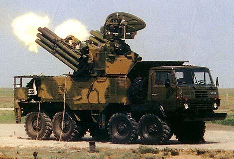 Pantsir-S1  + BM-30 SMERCH la mescla perfecta P1
