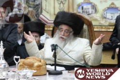 The Sanzer Rebbe on the Split in Shas