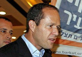 Jerusalem Mayor Barkat Endorses PM Netanyahu