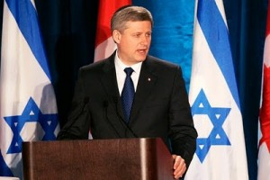Canadian Press: PM Harper's Israel Visit May Boost Conservative Party's Chances In Next Election