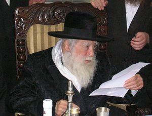 MK Litzman Visits with the Erlau Rebbe Shlita