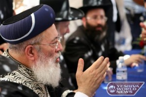 Shas Openly Backs Rabbi Amar Shlita in Jerusalem Race
