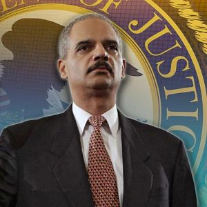 Holder Arrives In Ferguson After Police Shooting