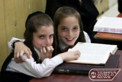 Jerusalem: 77 Percent Of Next Year's First Graders Will Be From The Chareidi And Arab Sectors