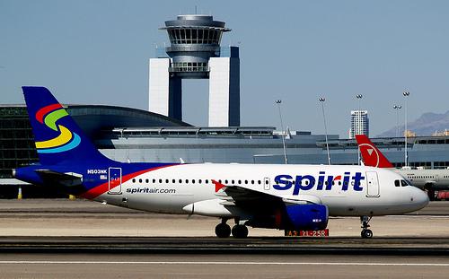 Spirit Jet Wheel Ignites on Landing in Dallas; No Injuries
