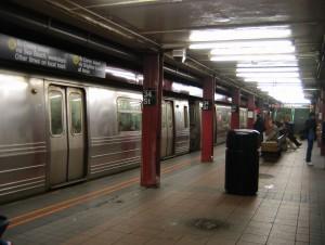 New York City Subway Train Goes Wrong Way
