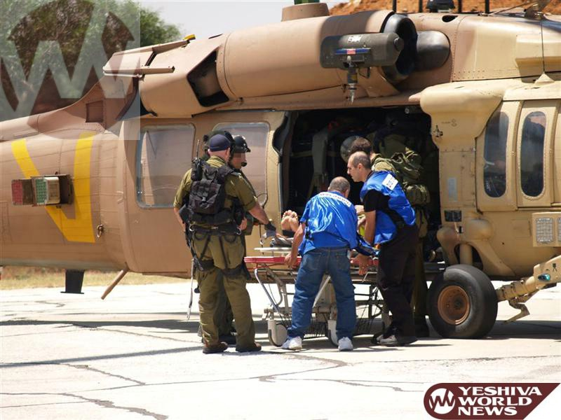 Baruch Rofeh Cholim: Soldier Critically Wounded in Operation Protective Edge Released from Hospital