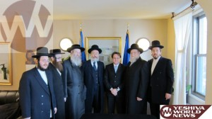 Delegation Pleads Over Preservati on Of The Holocaust Mass