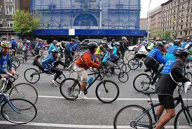 ALERT - NYC Lists Closed Streets for 5 Boro Bike Tour Taking Place On Sunday Morning