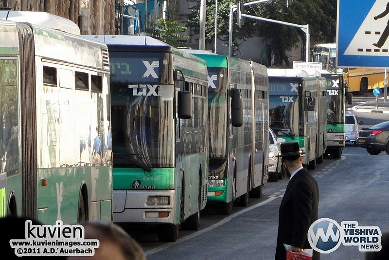 Shortage Of Buses Likely On Lag B'Omer