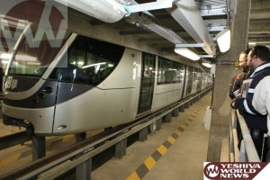 500,000 Riders Used the Jerusalem Light Rail During Pesach