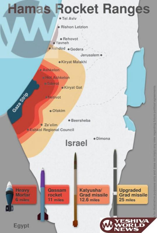 Detailed photo rocket range map yeshiva world news with gumiabroncs Choice Image