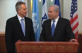 Prime Minister Benjamin Netanyahu Thanks Middle East Quartet Envoy Tony Blair
