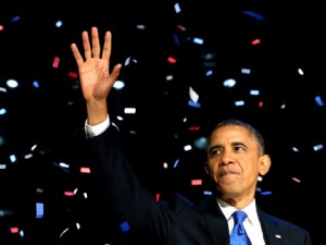 VIDEO & TEXT: President Obama's Victory Speech