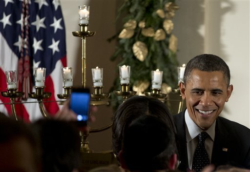 VIDEO: Obama At Whitehouse Chanukah Party: We Are Celebrating 'Pidyon Shvuyim' Today After Alan Gross Was Freed