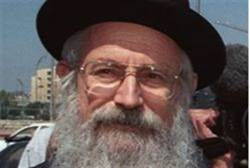 HaRav Zalman Baruch Melamed: Don't Vote Gimmel