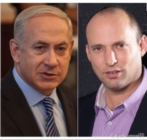Bayit Yehudi MK-Elect Still Down on PM Netanyahu