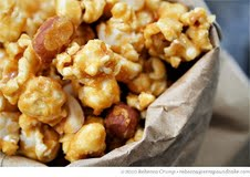 Edible Purim Gifts: Crunchy Nutty Caramel Popcorn