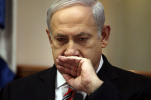 Israeli PM Benjamin Netanyahu holds a Cabinet meeting in Jerusalem
