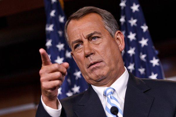 Conservative Pushes Symbolic Effort Against Boehner