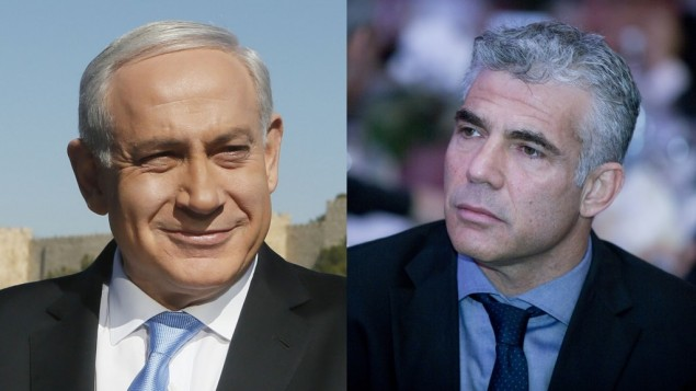 PM Meeting with Lapid to Bring Yesh Atid on Board