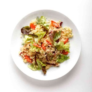 For Pesach: Quinoa Salad With Carrots & Sweet Cider