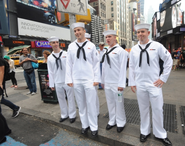 Hello Sailor! It's Fleet Week In NYC