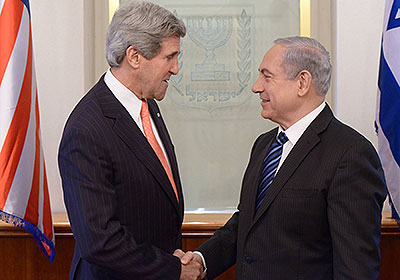PM Netanyahu Speaks with US Secretary of State John Kerry