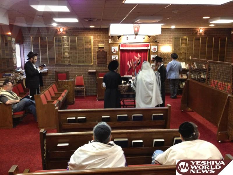 Ellenville Shul Restarts Daily Shacharis Minyan Yeshiva