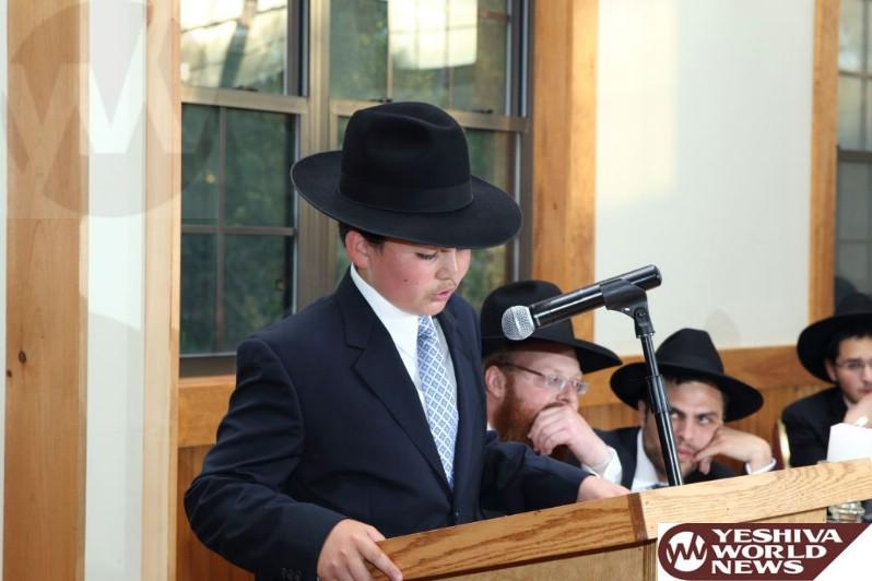 Photos Hundreds Attend Bar Mitzvah Of Nosson Tzvi Gross