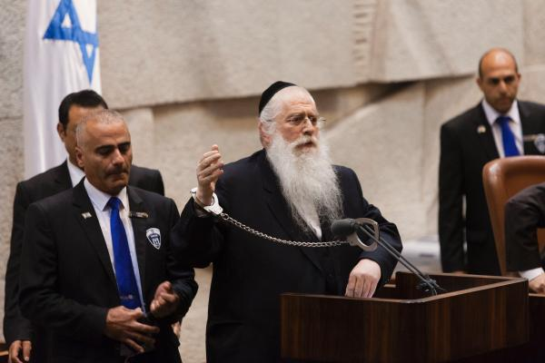 Asher's Entry to Knesset is Dependent on Deputy Minister Meir Porush
