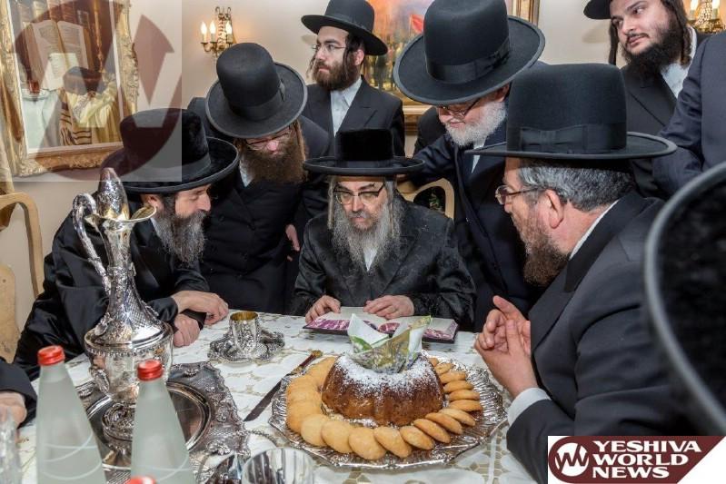 Photos Satmar Rebbe Of Kiryas Yoel Visits Home Of R Wolf