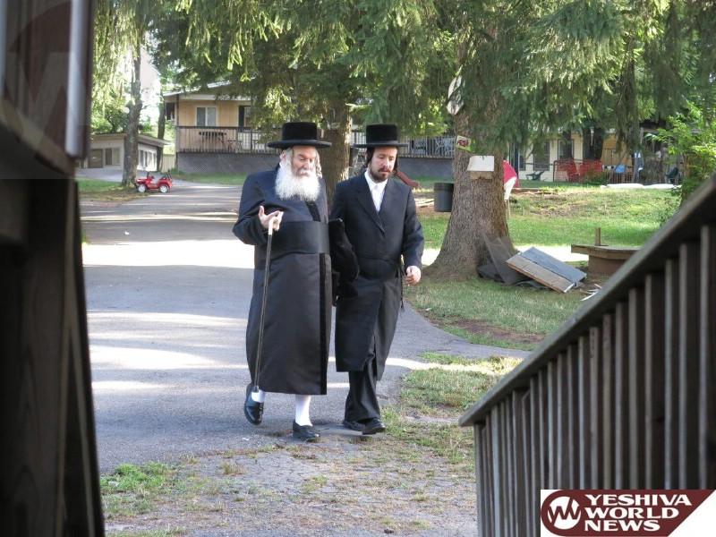 Photos Bobov Rebbe 48 Visiting The Catskills The