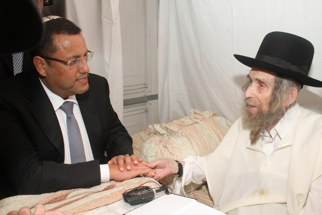 Leon and Rav Shteinman