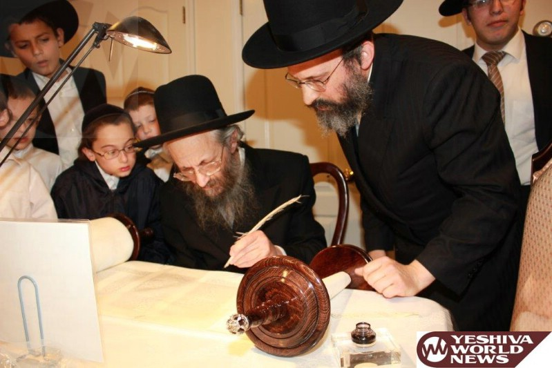 Photo Essay: Hachnosas Sefer Torah To Bais Medrash Elyon In Monsey - Photo By JDN