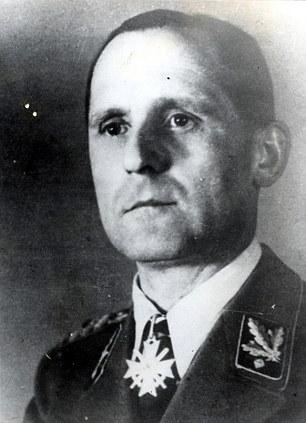 Long-sought Nazi Gestapo chief Heinrich Mueller died in Berlin, researcher says