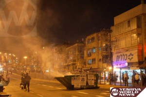 Arab Presence Results in Meah Shearim Violence