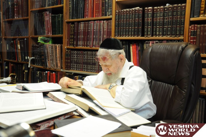 Events Being Planned Marking The Yahrzeit of Maran HaGaon HaRav Ovadia Yosef ZT