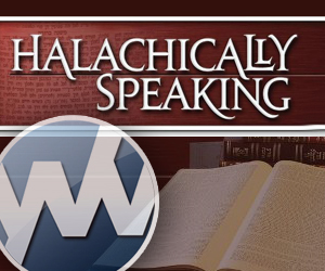 Halachically