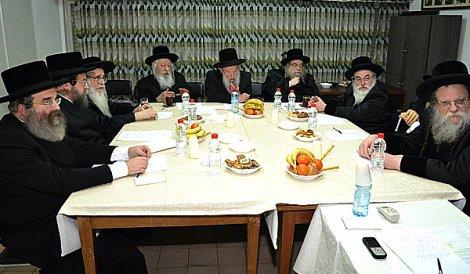 Moetzas Gedolei Hatorah of Agudas Yisrael Opposes Regional Registration