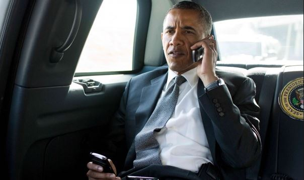 Obama Calls in to Massachusetts Governor's Show