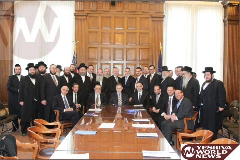 PHOTOS: Orthodox Community's Needs Powerfully Presented to NYS Officials At Agudath Israel's Annual Mission to Albany