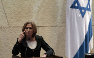 Right-Wing: Livni Crossed a Red Line!