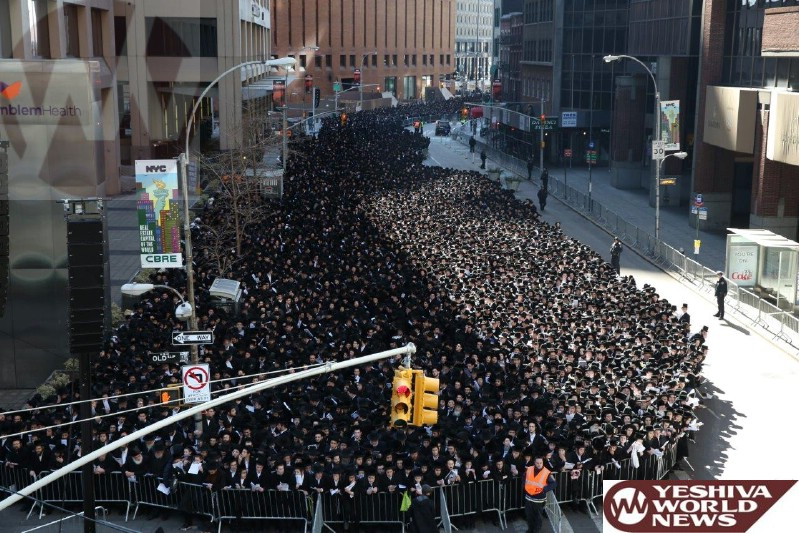 Analysis On The Atzeres Tefillah In Manhattan