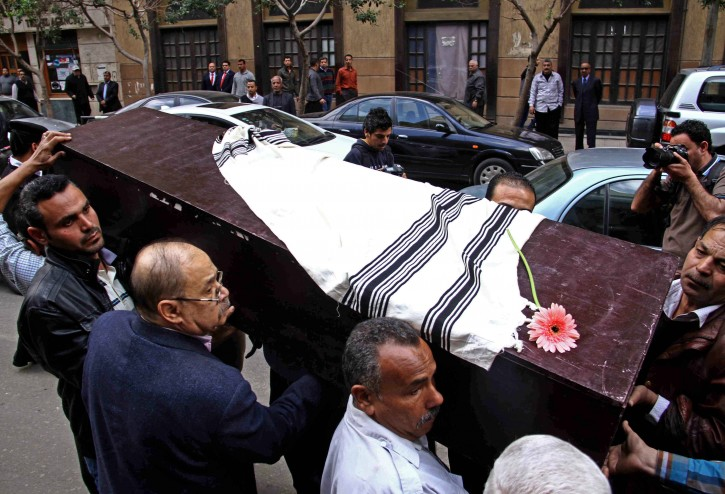 Deputy Leader Of Egypt's Jewish Community Buried