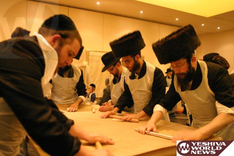 Photo Essay: Matza Baking Erev Pesach Afternoon In  Melbourne Australia 5774 (Photos By Y & D Rosenbaum)