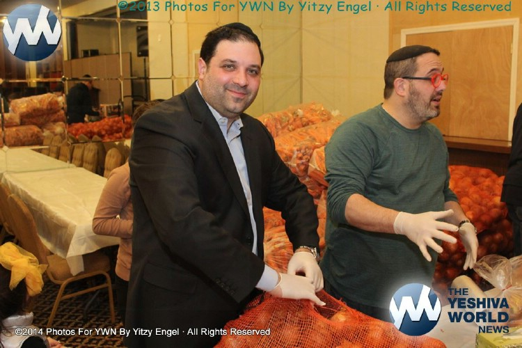 Photo Essay: Marine Park JCC Pesach 5774 Food Distribution (Photos By Yitzy Engel)
