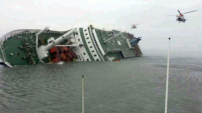SKorea Ferry Toll Hits 156 As Search Gets Tougher